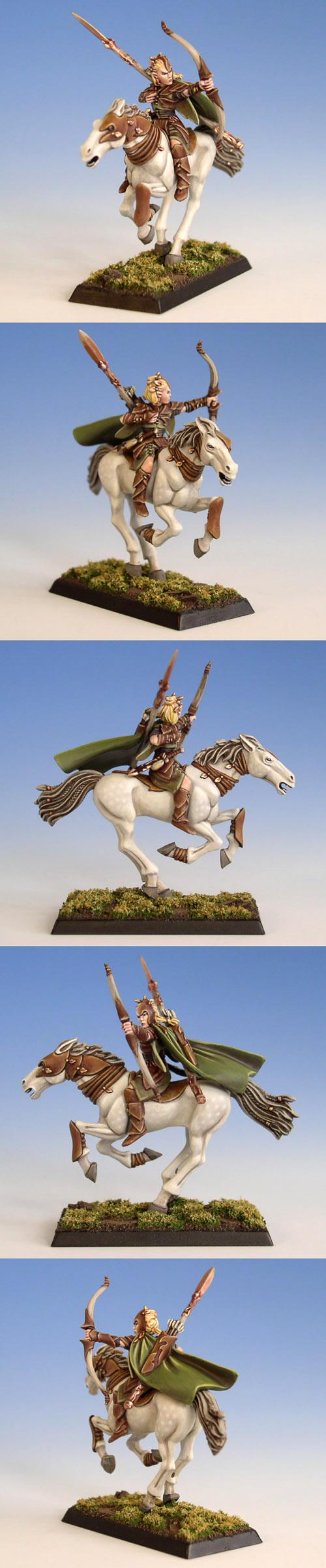 Wood Elf Glade Rider