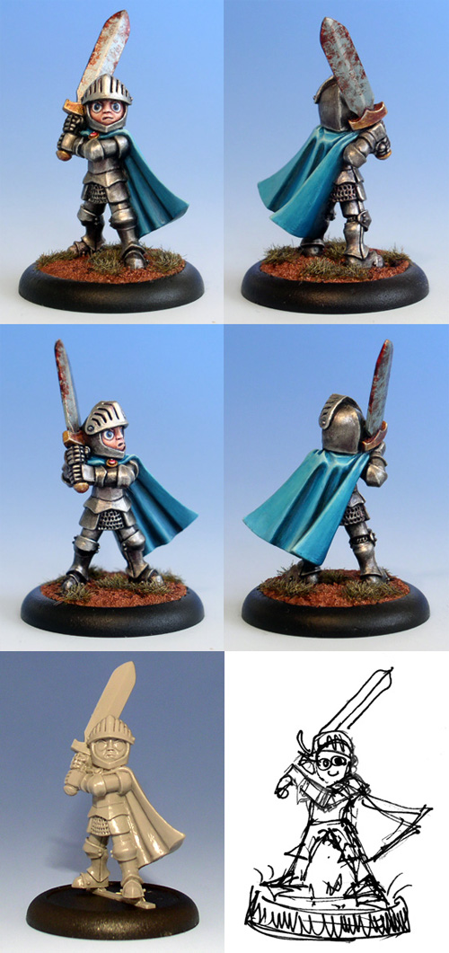 Runic Miniatures: Little Knight