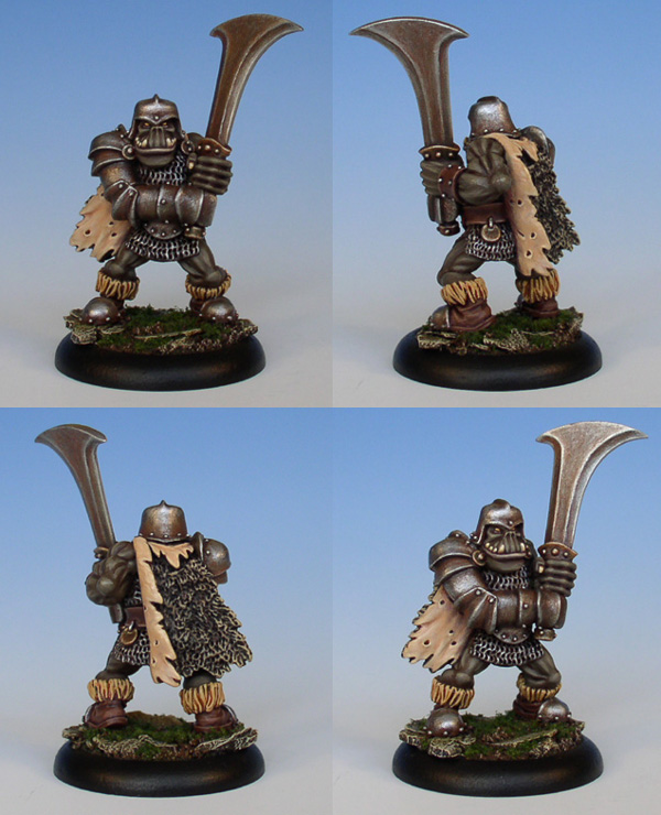 Runic Miniatures: Skagg - Orc Brute