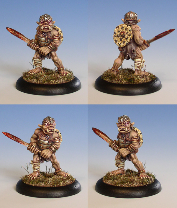 Orc Warrior with Sword